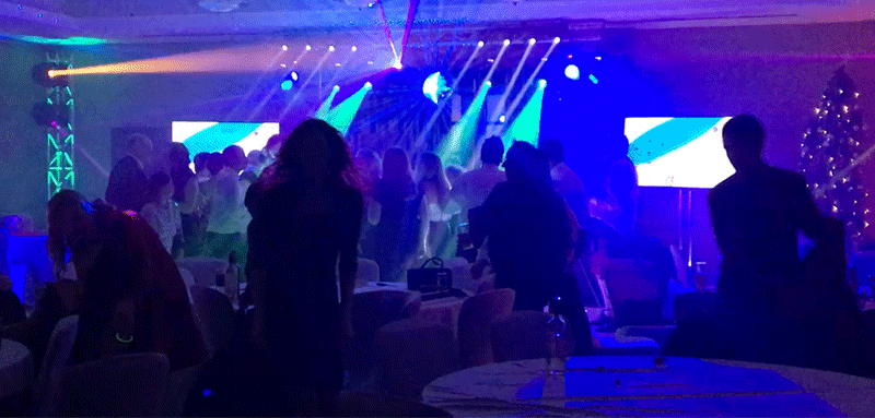 Large Mobile Disco